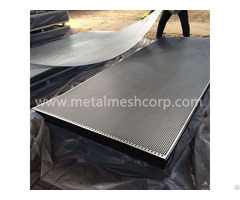 Perforated Metal 60 Degree Round Hole
