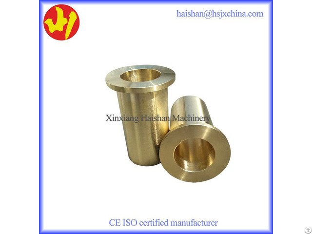 Hot Selling Sand Casting Bronze Flanged Bushings