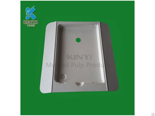 Molding Pulp Products Eco Friendly Paper Packaging Tray For Cell Phone