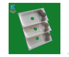 Eco Friendly Biodegradable Paper Pulp Mold Cell Phone Packaging Tray