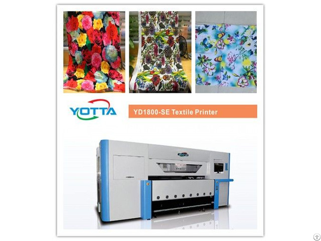 Yd1800 Se Textile Printer For Cotton Fibre Silk Nylon Polyester