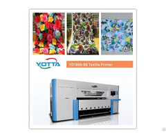 Yd1800 Se Textile Printer For Cotton Fibre Silk Nylon Polyester