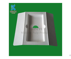 Eco Friendly Paper Pulp Mobile Phone Packaging Tray Container