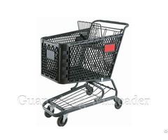 Yld Pt150 1f Plastic Shopping Cart