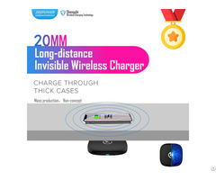 20mm Long Distance Qi Invisible Wireless Charger For Furniture