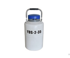 Yds2 35 2l Small Portable Liquid Nitrogen Semen Tanks For Sale