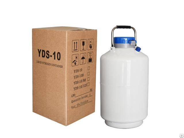 Bull Sperm Portable Semen Storage Containers 10 L Liquid Nitrogen Container