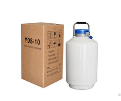 Bull Sperm Portable Semen Storage Containers 10 L Liquid Nitrogen Container
