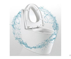 Hot Selling Water Saving One Piece Toilet Silent Flush With Glazed Trap