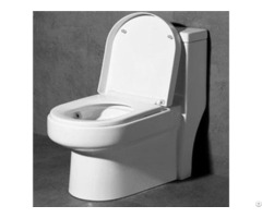 Floor Mounted Noiseless Closing Water Saving One Piece Toilet China Manufacturer