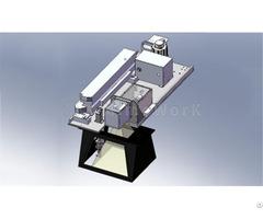 Gantry Galvo Integrated Laser Cutting Marking Machine Mimo Lyralight 170 Non Woven