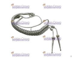 Military Silver Aiguillettes Supplier