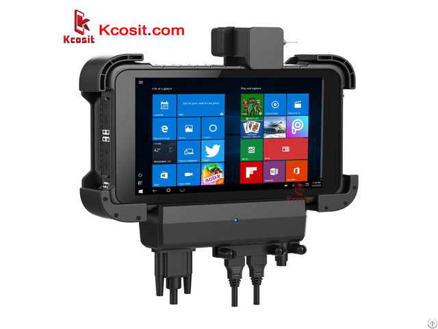 Rugged Windows 10 Tablet Pc Pro Computer Rs232 Usb Ip67 Extrem Waterproof 8