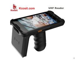 Uhf Rfid Reader Laser Barcode Scanner Zebra Android Handheld Data Mobile Terminal Pda