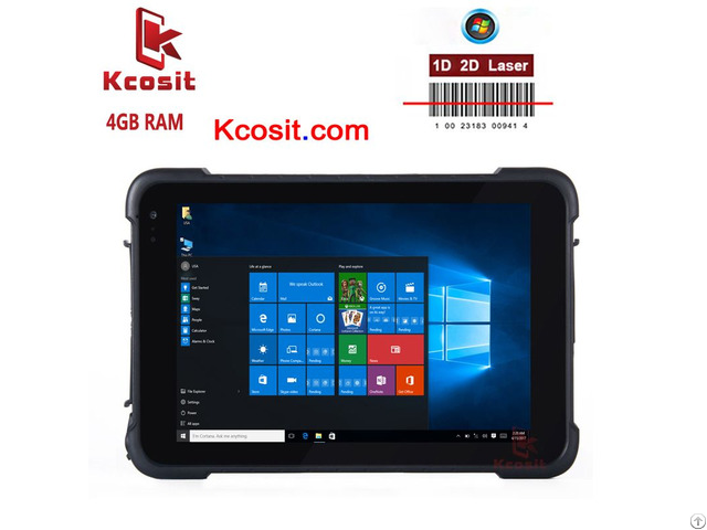 Rugged Windows Car Tablet Pc 2d Barcode Scanner 4gb Ram 8 Inch 4g Gnss Ublox Gps