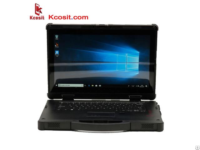 Rugged Laptop Tablet Pc Windows 7 10 Waterproof Desktop Computer Intel I5 8250u 14
