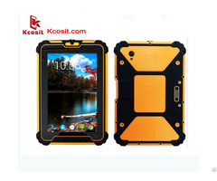 "Waterproof Tablet Pc Android 7 1 4gb Ram 64gb Rom Msm8953 Octa Core 8"" Uhf Rfid Reader 4g Gps"