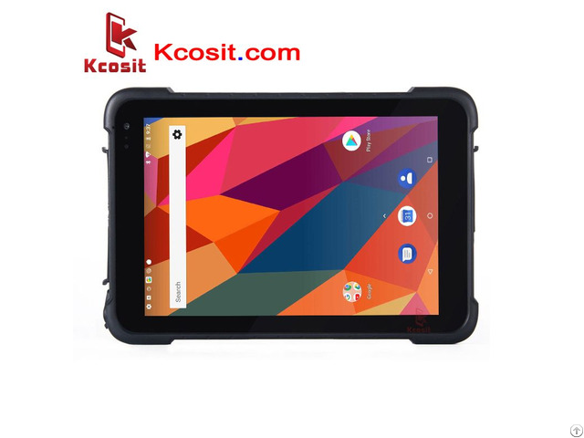 Ip67 Rugged Waterproof Tablets Pc Android 8 1 1d 2d Laser Barcode 4g Mobile Data Collector Pda Gps