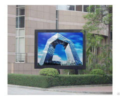 How To Make Outdoor Led Advertising Screen Installation Debugging