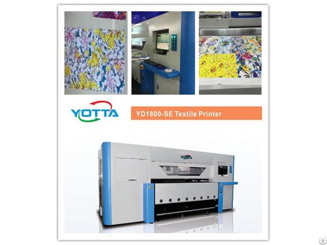 Yd1800 Se Textile Printer For Silk Fabrics