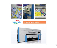Yd1800 Se Textile Printer For Silk Fabrics