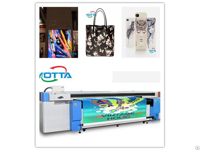 Yd2600 Rc Hybrid Uv Printer Popular 3d Background Wall Printing Machine
