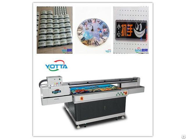 Yd1510 Uv Flatbed Printer Glass Tv Background Wall Printing Machine