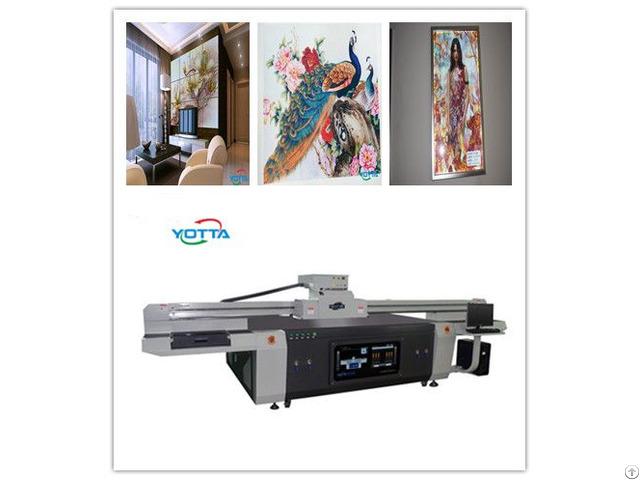 Yd2513 R5 Uv Flatbed Printer 3d Tv Wall Tile Background