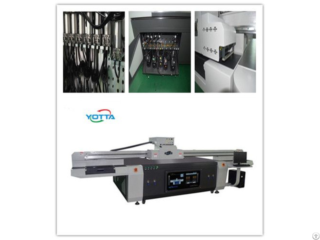 Yd2513 R5 Uv Flatbed Printer For Background Wall Inkjet Digital Colorful Printing Machine
