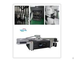 Yd2513 R5 Uv Flatbed Printer For Background Wall Inkjet Digital Colorful Printing Machine