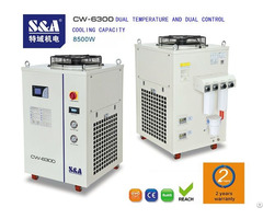 S And A Air Water Chiller For Cooling Ipg Laser With 2 Years Warranty