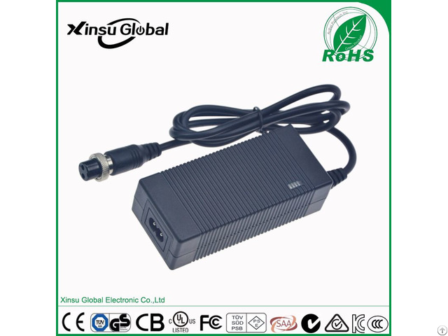 Two Wheel Electric Scooter 42v 1 5a 3pin 2pin Battery Charger