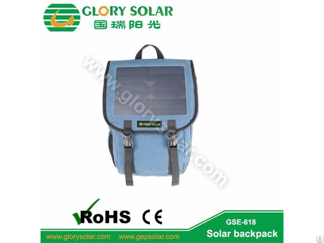 High Quality Business 10w Solar Backpack Charge Mobile Phone