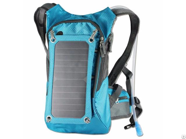 Sunpower Solar Backpack With Hydration Reservoir 6 5w