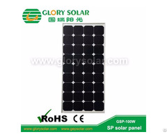 Sp Solar Panel 100w For Rv Golf Electric Car Yacht Boat Marine Tent Ect