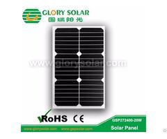 High Efficiency Flexible 20w Solar Panel