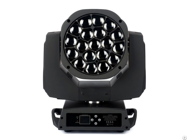 Brighten Moving Head 19 15w Wash Zoom Light Led Stage Lighting For Sale