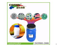 Liquid Binder For Textile Screen Printing