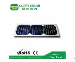 Glass Laminated Pet Solar Panel 10w