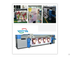 Yd3200 Rc Hybrid Uv Printer For Wall Background Large Format Printing Machine