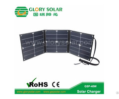 Sunpower Solar Folding Bag 40w18v