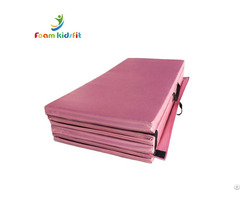 "48""x96""x2"" Fitness Body Building Four Folding Play Crash Mat For Gymnastic"