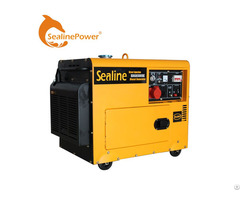 Over Voltage Protection Ac Three Phase Air Cooled Single Cylinder Super Silent Diesel Generator