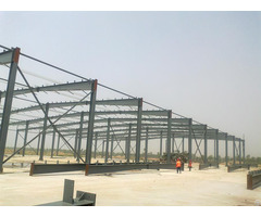 Custom Steel Warehouse Manufacturer