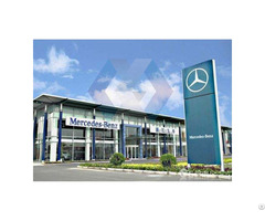 Prefabricated Light High Grade Steel Structure Customized 4s Car Showroom House