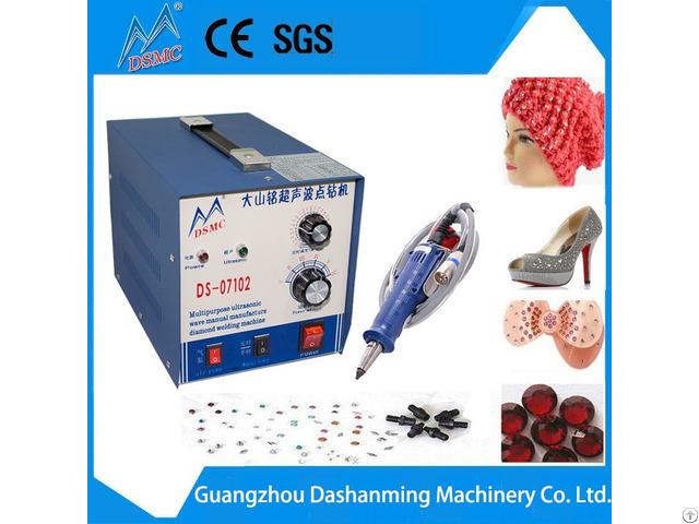 Ultrasonic Hot Fixing Rhinestone Machine