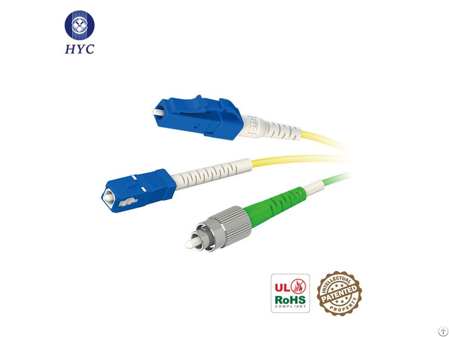 Pm Optical Connector Jumper Polarization Maintaining Fc Sc Lc Fiber Optic Patch Cables