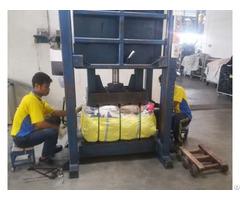 Scrap Textile Hydraulic Baling Press