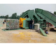 Pet Bottle Horizontal Baler