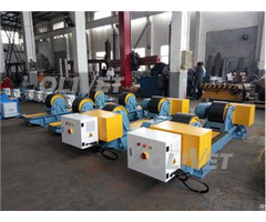 40t Capacity Adjustable Turning Rolls